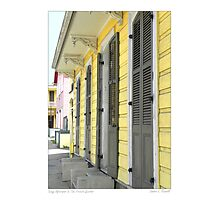 Sunny Afternoon In The French Quarter Photographic Print