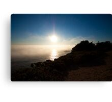 Rolling out to sea Canvas Print