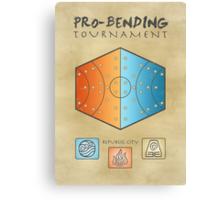Pro-Bending Tournament Canvas Print