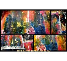 2012 Studio Play - Hand Painted Tissue Paper Photographic Print