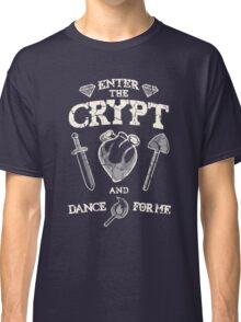Enter the crypt. Classic T-Shirt