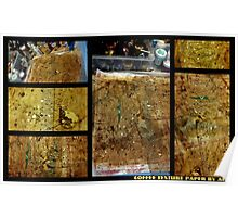 2012 Studio Play - Coffee Mica Texture Paper Poster