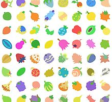 Pokémon Berry Grid by MichaelGRM