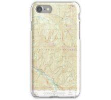 USGS Topo Map Washington State WA Brief 240231 2004 24000 iPhone Case/Skin