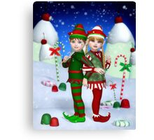 Elves of Candy Mountain Canvas Print