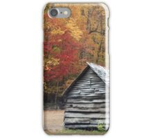 Great Smoky Mountains in the Fall iPhone Case/Skin