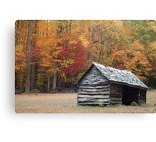 Great Smoky Mountains in the Fall Canvas Print