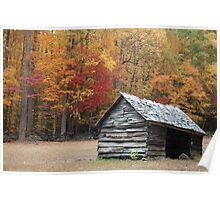 Great Smoky Mountains in the Fall Poster