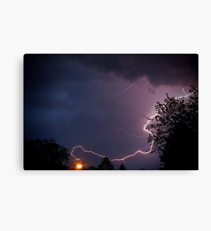 Modern Discovery of Electricity Canvas Print