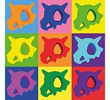 Pokemon - Cubone Pop Art Photographic Print