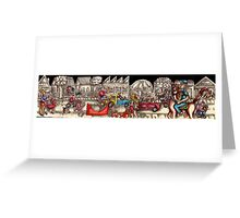 Time and the Way We Travel Greeting Card