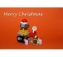 Merry Christmas - Wall E Photographic Print