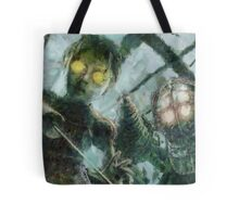Look Mr Bubbles An Angel Tote Bag