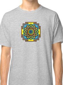 Flower of Life Psychedelic Mandala Classic T-Shirt
