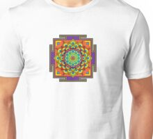 Flower of Life Rainbow Mandala Unisex T-Shirt