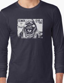 Slimer Has A Posse Long Sleeve T-Shirt