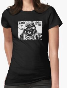 Slimer Has A Posse Womens Fitted T-Shirt