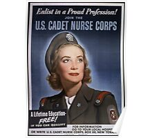 Join the US Cadet Nurse Corps Poster