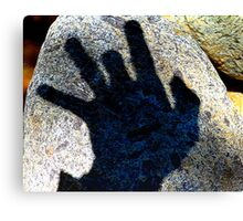 My Shadow Impression of a Snapping Turtle Examiner Canvas Print