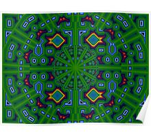 GIMP Circuit Bored Kaleido (UF0697) Poster