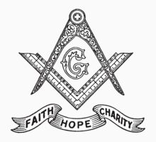 Masons Faith Hope Charity by KuromanKuro