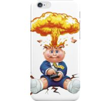 Adam Bomb iPhone Case/Skin