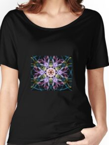 Trippy Snowflake  Women's Relaxed Fit T-Shirt