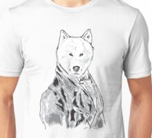William D. Wolfington (The Gentleman Wolf) Unisex T-Shirt
