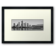 Tampa Cityscape Framed Print