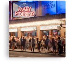 Marry Poppins Canvas Print
