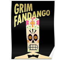 Grim Fandango - Day of the Dead Poster