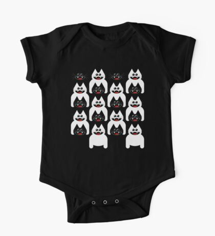 CROWD OF CATS One Piece - Short Sleeve