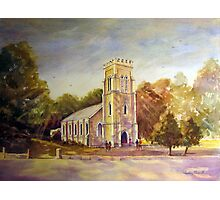Anglican church Beechworth vic. australia Photographic Print