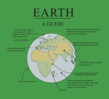Earth: A Guide One Piece - Short Sleeve