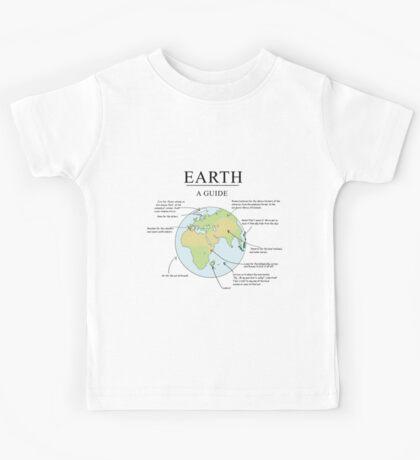 Earth: A Guide Kids Tee