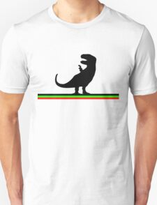 Dinosaurs artwork (black design) T-Shirt