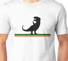 Dinosaurs artwork (black design) Unisex T-Shirt