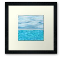 The Calm Before Nothing Framed Print