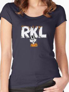 Rich Kids on LSD RKL T-Shirt Women's Fitted Scoop T-Shirt