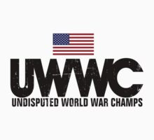 Undisputed World War Champs by avdesigns