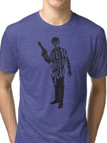 Here to Rescue You Tri-blend T-Shirt