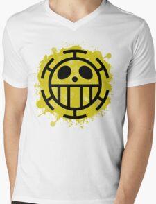 Heart Pirates Mens V-Neck T-Shirt