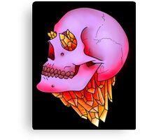 Crystal and Skull Canvas Print