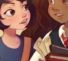 Kiki and Hermione Sticker