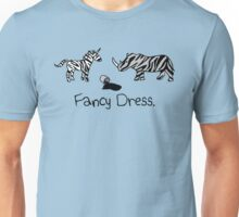 Unicorn & Rhino - Zebra Fancy Dress Unisex T-Shirt