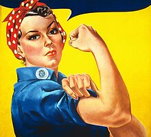 We Can Do It - Rosie the Riveter by Robert Partridge