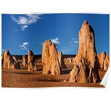 Pinnacles Western Australia Poster