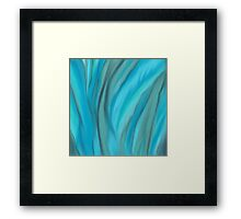 Swirls To and Flow.. Framed Print
