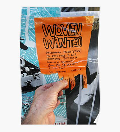 Women Wanted in Brunswick Poster