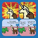 Llamacorn and Alpacacorn: They Fight Crime (Horned Warrior Friends) by jezkemp